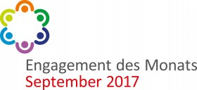 Logo Engagement des Monats September 2017