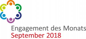 Logo Engagement des Monats September 2018