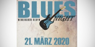 Plakat 2. Bluesnight Neukirchen-Vluyn