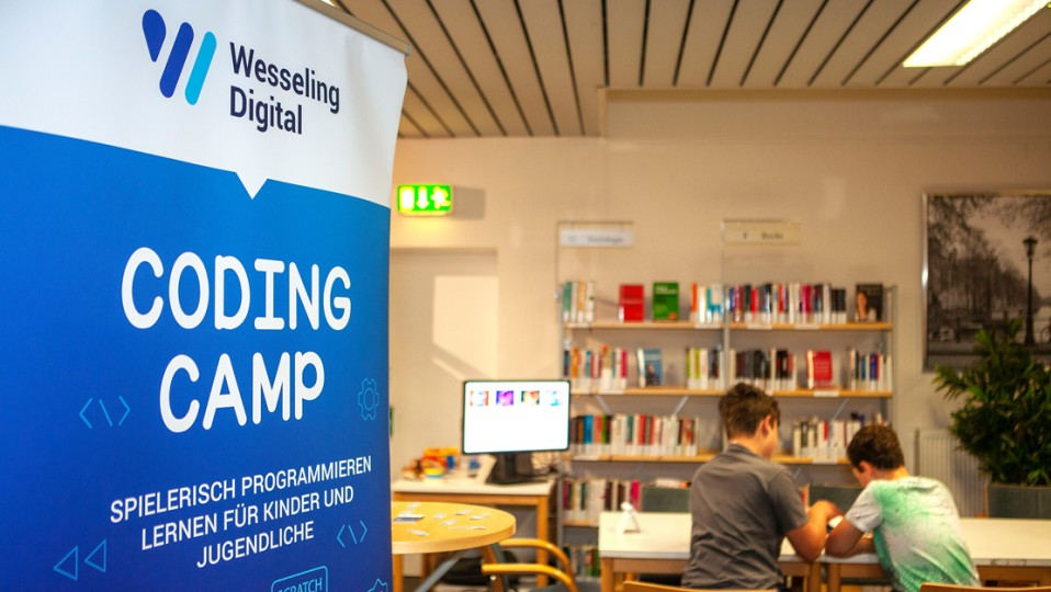 Wesseling Digital:Banner Coding Camp